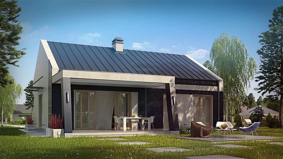 Świeże Zbudujemy.com - Budowa domu drewnianego całorocznego typ RC43