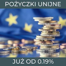 Pożyczki Unijne od 0,19%, oferta