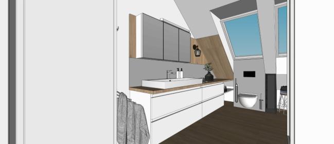 Kompleksowy projekt wnętrz bez wizualizacji z modelem 3D
