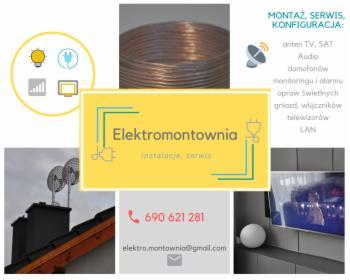 Instalacje elektryczne, Cerekwica, oferta
