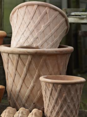 Donice ceramiczne - NATURALNE - 22x19cm // SPRZEDAŻ HURTOWA, Kwidzyn, oferta