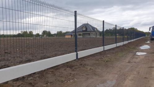 Panele ogrodzeniowe 1.5m+ podmurówka, oferta