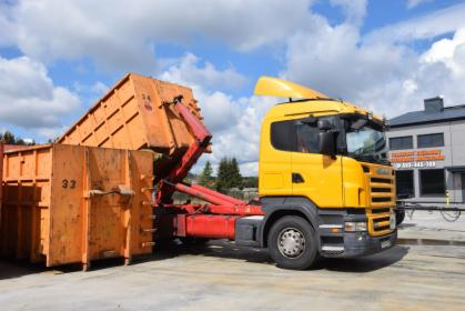 Wywóz odpadów ;  śmieci - gruzu - metali - ziemi - drewna, Gdynia, oferta