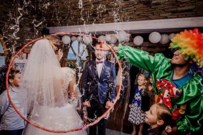 Animacje weselne, animacje podczas komunii, chrzcin, wesel, przyjęć