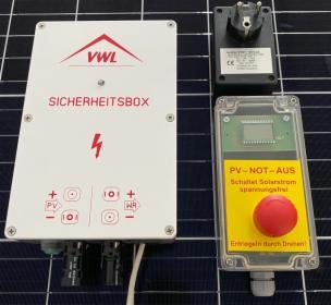 System Zabezpieczeń Przeciwpożarowych FWS-112 do instalacji fotowoltaicznych, Wrocław, oferta