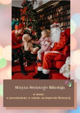 Wizyta Świętego Mikołaja, oferta