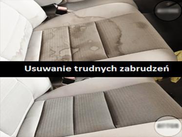 Pranie tapicerki samochodowej, meblowej (w tym dywanów) z dojazdem do klienta
