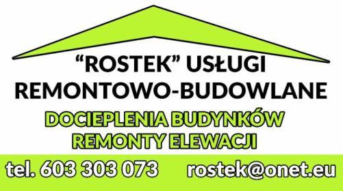 USŁUGI REMONTOWO-BUDOWLANE, Warszawa, oferta