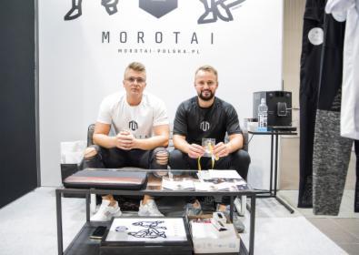 Fotoreportaż z Targów FIWE 2020 w Warszawie dla firmy odzieżowej MOROTAI, oferta