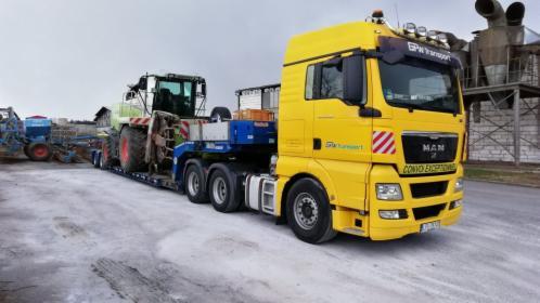 Transport ładunków ponadnormatywnych - Oversize and heavy transport