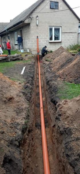 Przyłącze kanalizacyjne, przyłącza wodne, odwodnienia, oferta