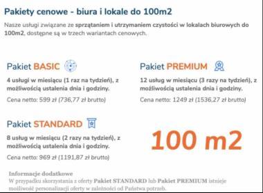 Sprzątanie powierzchni biurowych 100/200 metrów, Poznań, oferta
