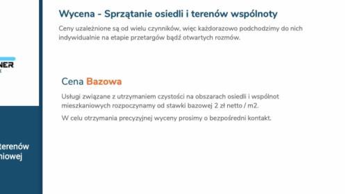 Sprzątanie osiedli i terenów wspólnoty mieszkaniowej, Poznań, oferta