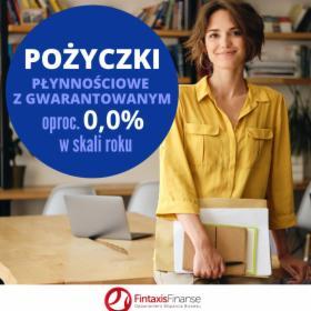 Pożyczka płynnościowa 0,0% w skali roku, oferta