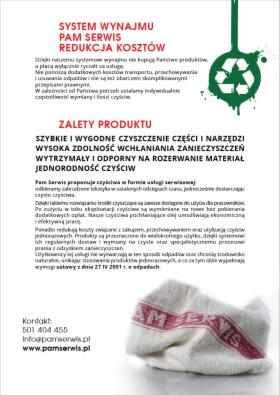 Czyściwo Przemysłowe, Katowice, oferta