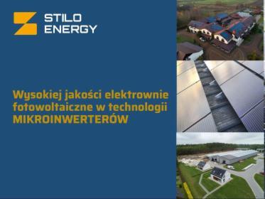 Instalacje fotowoltaiczne STILO ENERGY SA, Nadarzyn, oferta