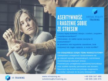 Asertywność i radzenie sobie ze stresem, oferta