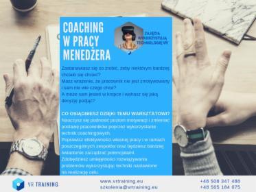 Coaching w pracy menedżera, oferta