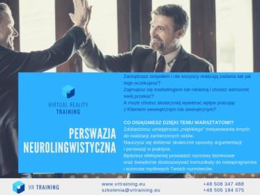 Perswazja NLP, Warszawa, oferta