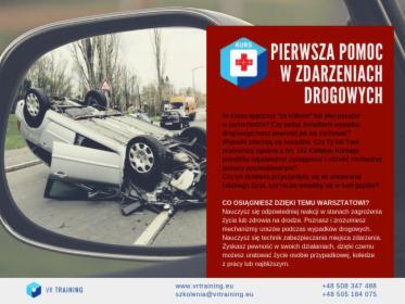 Pierwsza pomoc w zdarzeniach drogowych, Warszawa, oferta