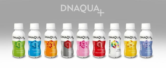 Producent napojów i suplementów diety w formie płynnej, oferta