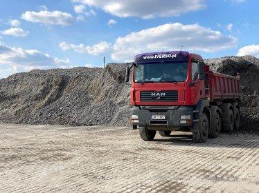 Transport Kruszyw Budowlanych oraz Palet do 18 ton !