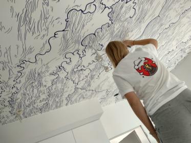 Malowanie artystyczne ścian w firmach, oferta