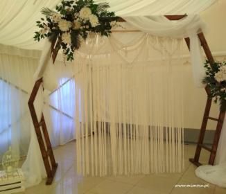 Dekoracja sali weselnej, oferta