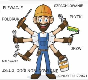 Pracę remontowo budowlane, Morąg, oferta