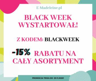 Promocja -15% z okazji Black Week