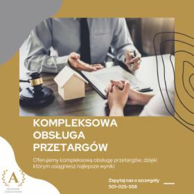 Kompleksowa obsługa przetargów, Toruń, oferta
