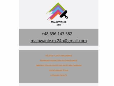 MALOWANIE 24H - Usługi malarskie CZYSTO i SOLIDNIE, oferta