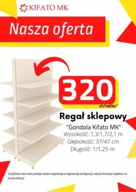 Regał sklepowy magazynowy KIFATO MK, oferta
