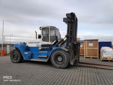 Wynajem wózka widłowego KoneCranes SMV 25-1200B, oferta