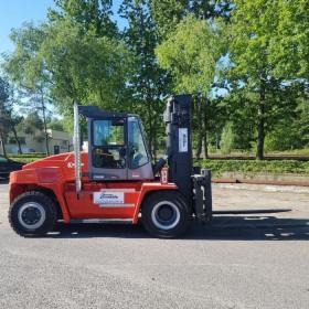 Wynajem wózka widłowego 12 ton KALMAR DCE 120-6, Polkowice, oferta