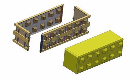 Formy metalowe blok lego 180x60x60, oferta