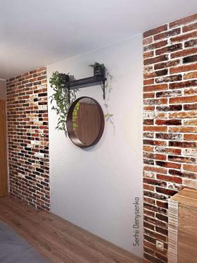 Położenie kamnia dekoracyjnego ( koszt 3,5 zł za szt)małowanie sciany, Wrocław, oferta