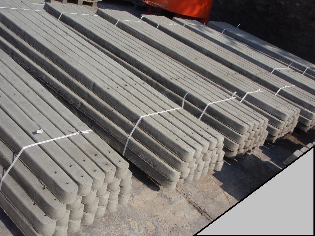 Słupki betonowe ogrodzeniowe cena