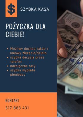 Pożyczka dla pracujących, emerytów i rencistów, Września, oferta