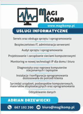 Obsługa informatyczna firm oraz klientów indywidualnych, Konin, oferta