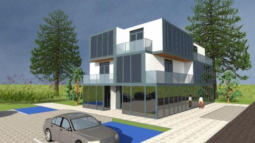 Koncepcje Budynku usługowo-mieszkaniowego, Kargowa, oferta