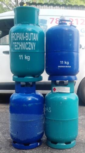 Gaz propan butan 11kg, butla gazowa, butla 11kg, Zabrze, oferta