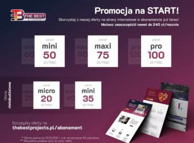 Strony internetowe w abonamencie, Poznań, oferta