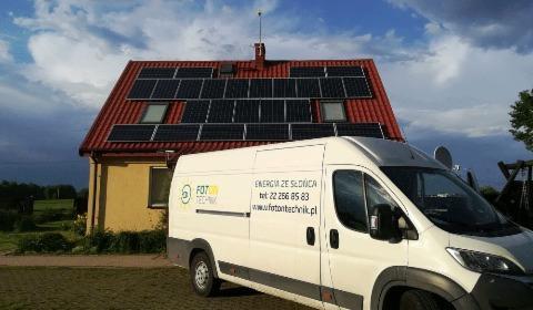 Instalacja fotowoltaiczna o mocy 4,8 kWp (Q-CELLS + HUAWEI), Łódź, oferta