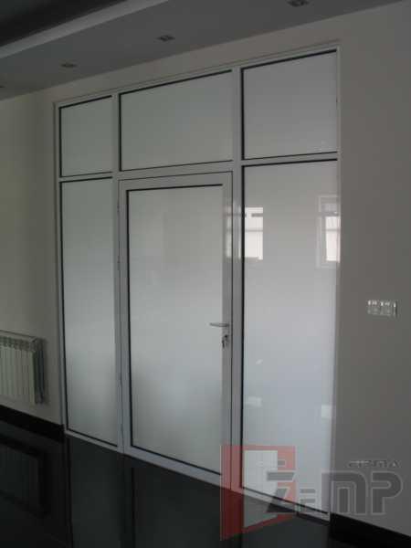 Modne ubrania Aluminiowe ścianki działowe wewnętrzne do biur, magazynów, ścianki ZC39