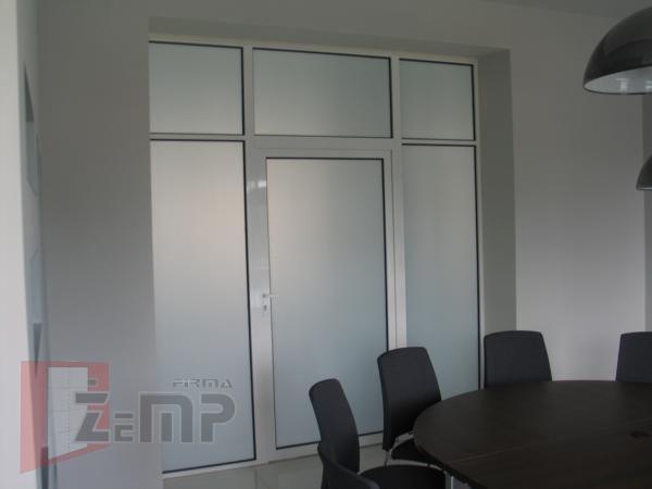 Wspaniały Aluminiowe ścianki działowe wewnętrzne do biur, magazynów, ścianki ES83