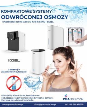 Oczyszczacze wody z systemem ODWRÓCONEJ OSMOZY, Legionowo, oferta