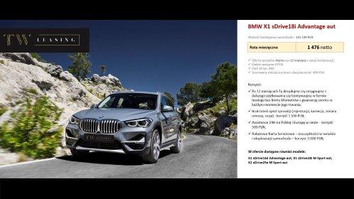 BMW X1, oferta