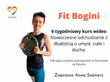 Fit Bogini 6 tygodniowy kurs on-line, Bolesław, oferta