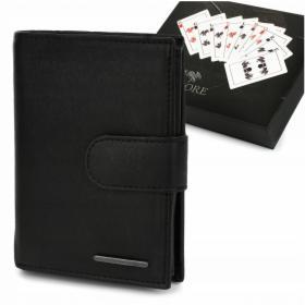 Męski portfel skórzany klasyczny RFiD Beltimore P96